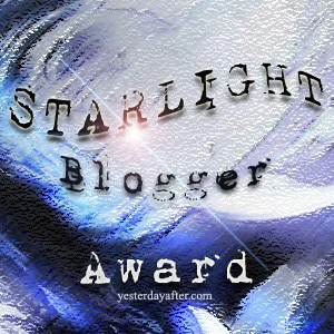 Starlight Blogger Award Photo!!
