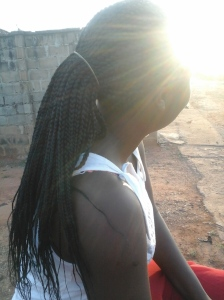 that was the day i made my first braid..it turned out to be not so stressful