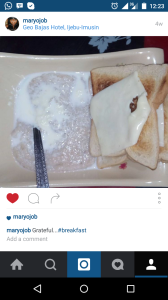 oatmeal...knew i would find a picture on instagram. yeah i know the cheese doesn't qualify health-wise