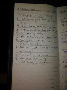 I took notes..haha