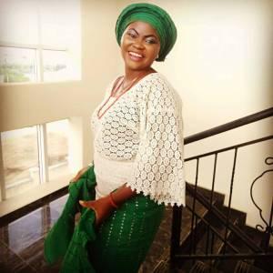 Mary Mojisola Job in Traditional Attire