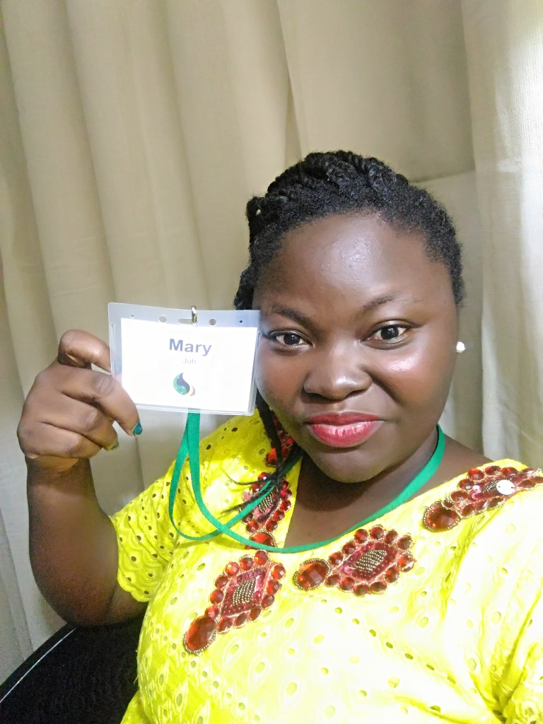 Mary Job at the Tech Women Africa Summit 2018