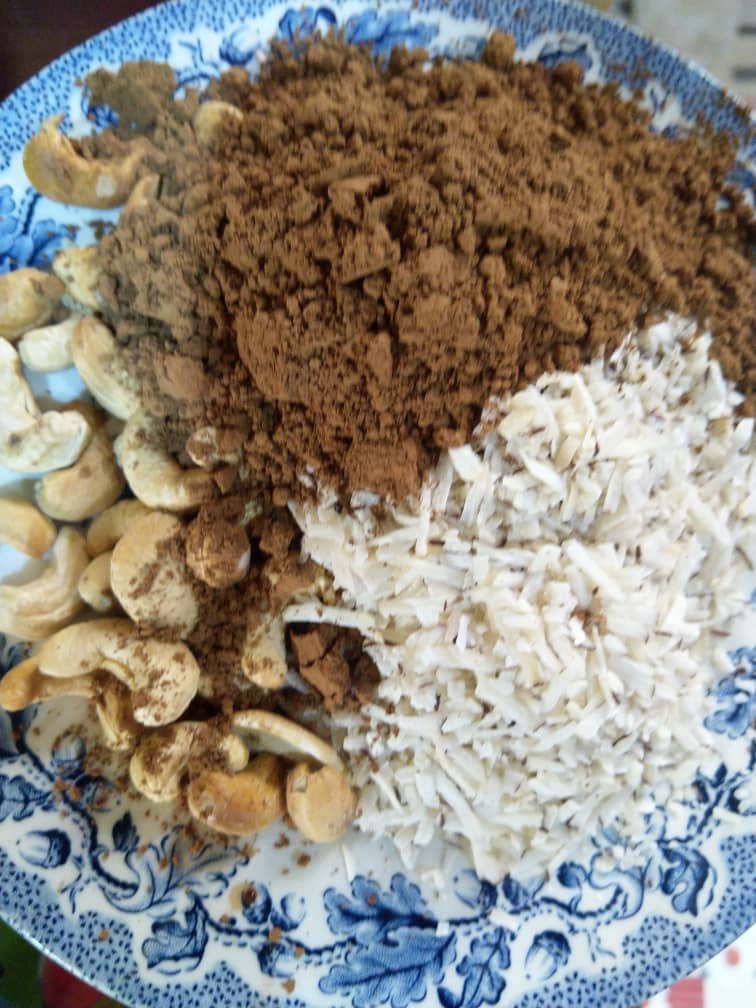 Some ingredients for my chocolate protein balls