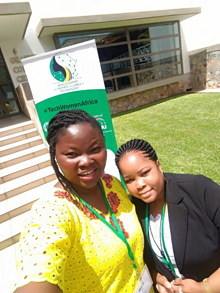 Yet another friend at the TechWomenAfrica 2018 Summit, I do not remember her name, shame on me! I am sorry friend.