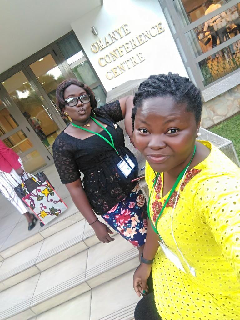 I made a friend from Liberia, Nanu, beautiful woman, she was super kind and nice, miss you o Nanu