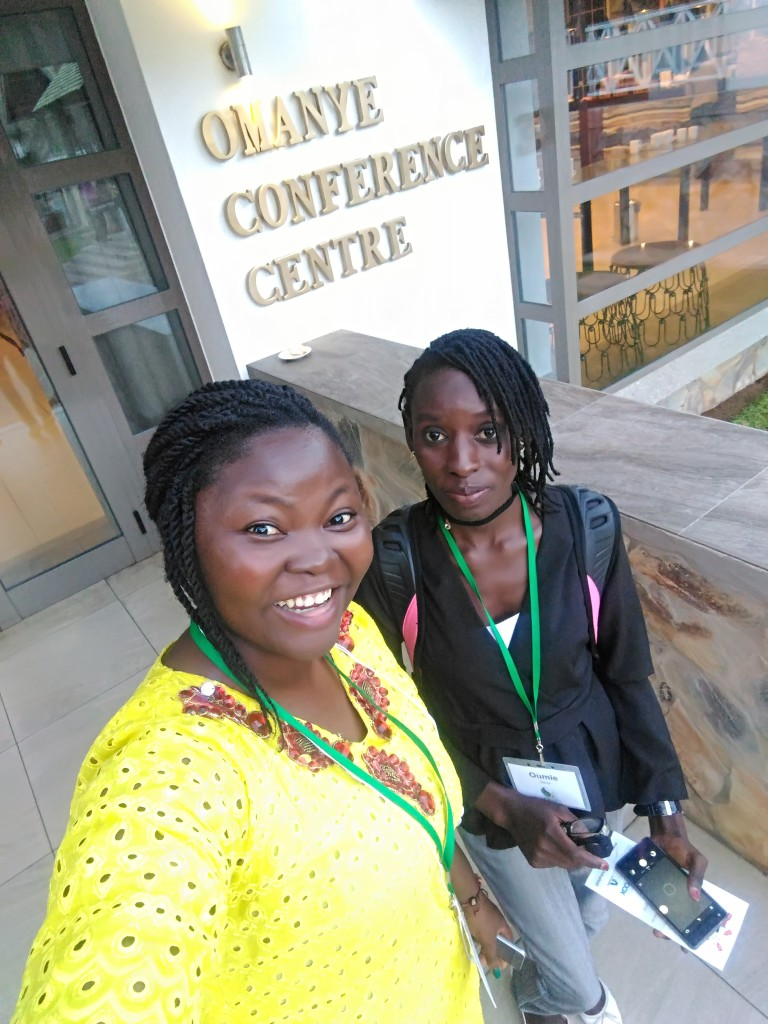 Another friend at the TechWomenAfrica 2018 Summit, I do not remember her name, shame on me! I am sorry friend.